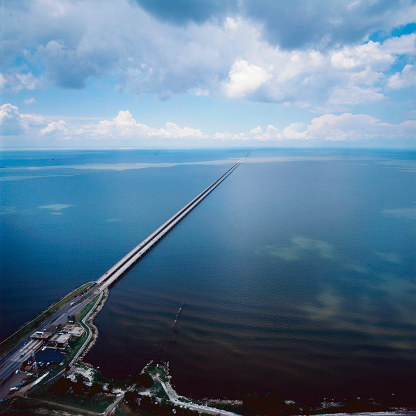 Bridge - Built Structure「Mississippi Delta, Louisiana, USA.」:写真・画像(12)[壁紙.com]