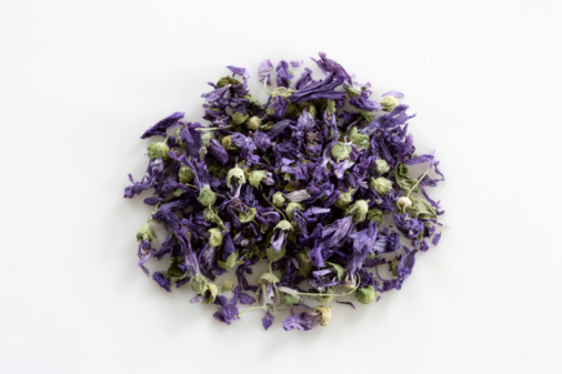 茶葉「Tea leaves of purple flowers」:スマホ壁紙(18)