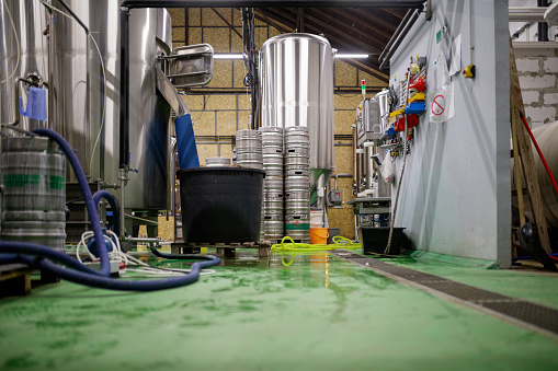 Image processing filter「Messy brewery interior」:スマホ壁紙(14)