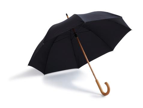 Sunshade「Black Umbrella Isolated on a White Background」:スマホ壁紙(14)