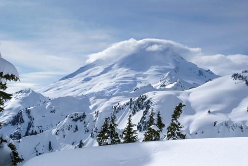 雪山「Mt Baker」:スマホ壁紙(8)
