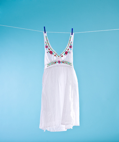 Embroidery「White dress」:スマホ壁紙(10)