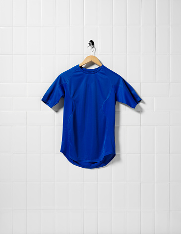 Soccer Uniform「Blue Football Shirt」:スマホ壁紙(5)
