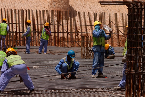 Occupational Safety And Health「Steel Fixers, New Air Terminal, Dubai, United Arab Emirates.」:写真・画像(13)[壁紙.com]
