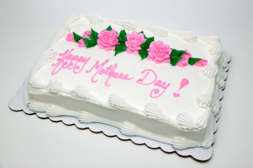 母の日「Sheet cake with words Happy Mother's Day!」:スマホ壁紙(14)