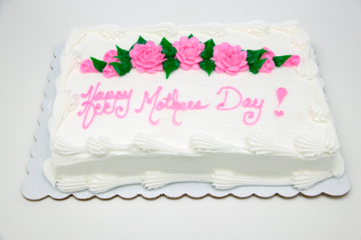 Mother's Day「Sheet cake with words Happy Mother's Day!」:スマホ壁紙(17)