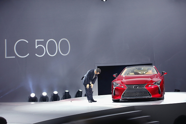 Finance and Economy「Car Makers Reveal New Models At N. American International Auto Show In Detroit」:写真・画像(17)[壁紙.com]