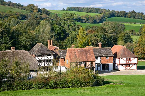Rural scene near Chichester, England:スマホ壁紙(壁紙.com)