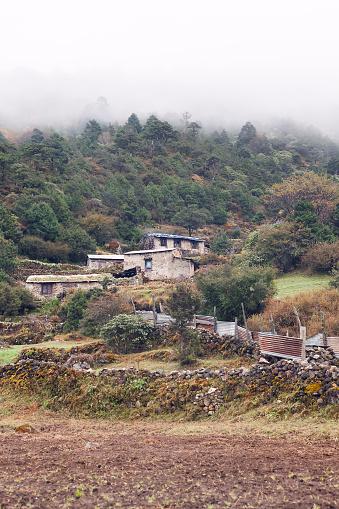 Khumbu「Rural scene near Tengboche, Nepal」:スマホ壁紙(3)
