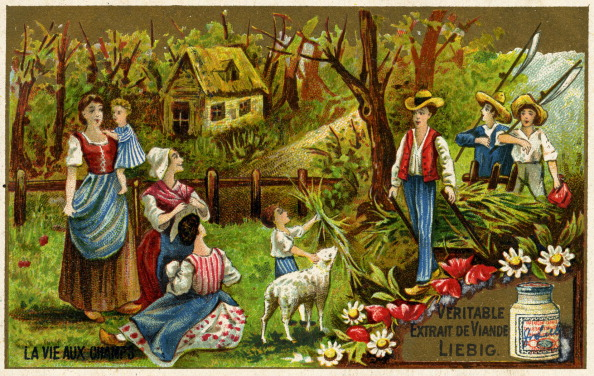 Idyllic「Peasants return from fishing  in France late 19th century」:写真・画像(17)[壁紙.com]