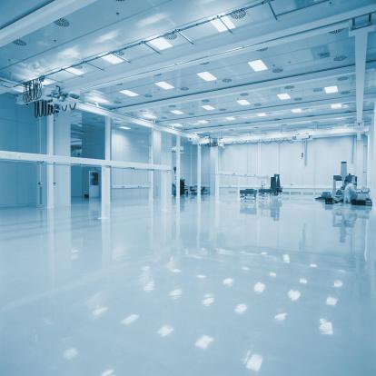 Machinery「New empty Industrial hall」:スマホ壁紙(18)