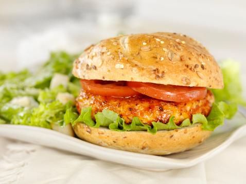 Pub Food「BBQ Chicken Burger」:スマホ壁紙(1)