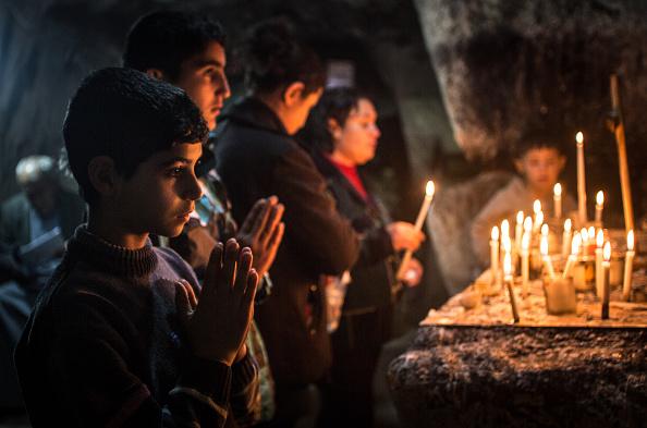 Christianity「Displaced Christians Take Refuge In Erbil」:写真・画像(1)[壁紙.com]