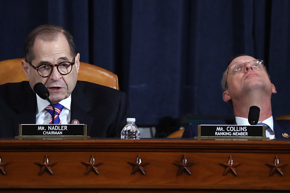 Drew Angerer「House Judiciary Committee Holds First Impeachment Inquiry Hearing」:写真・画像(8)[壁紙.com]