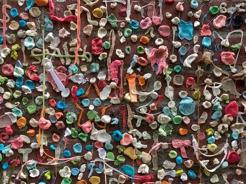 """ヒューマンインタレスト「""""Gum Wall"""", Pike Place Market, Seattle」:スマホ壁紙(19)"""