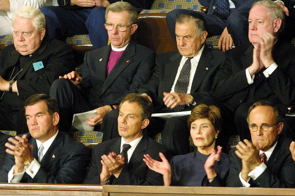 Joint Session of Congress「President Bush speaks To Joint Session of Congress」:写真・画像(6)[壁紙.com]