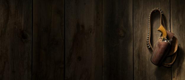 Belt「Western revolver hanging on barn wood wall」:スマホ壁紙(16)