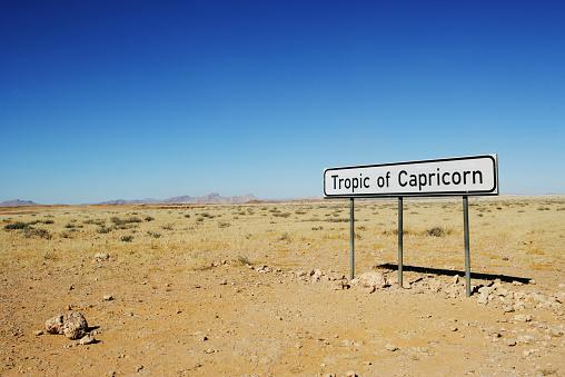 Latitude「Tropic of Capricorn sign, Namibia」:スマホ壁紙(19)