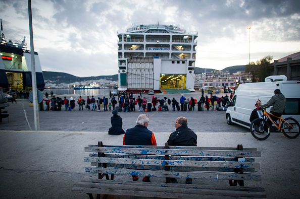 Ferry「Greek Island Of Lesbos On The Frontline Of the Migrant Crisis」:写真・画像(11)[壁紙.com]