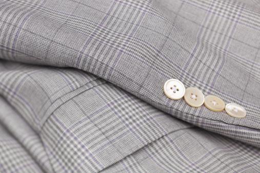 タータンチェック「男性向けチェックの灰色のウールのスーツの」:スマホ壁紙(15)
