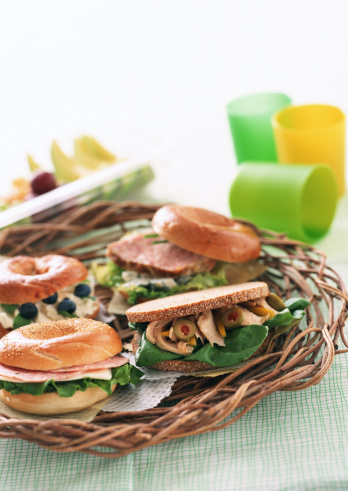 Picnic「Bagel Sandwich」:スマホ壁紙(12)