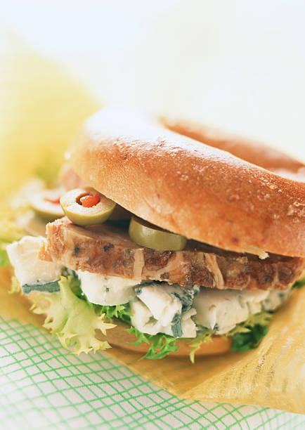 Bagel Sandwich:スマホ壁紙(壁紙.com)
