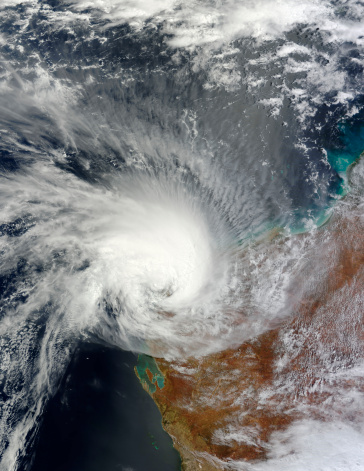 Extreme Weather「February 23, 2011 - Tropical Cyclone Carlos over Western Australia.」:スマホ壁紙(14)