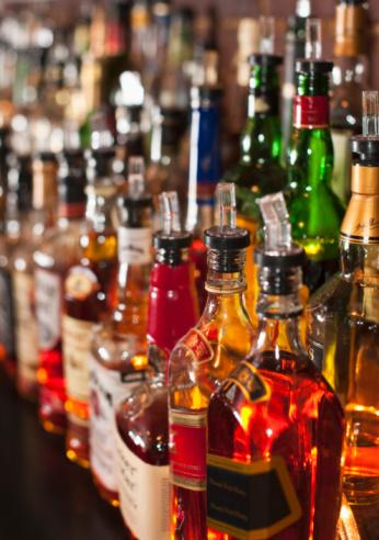 Saki Decanter「Bottles of liquor」:スマホ壁紙(6)