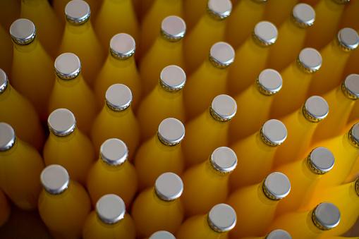 Juice - Drink「Bottles of juice」:スマホ壁紙(6)