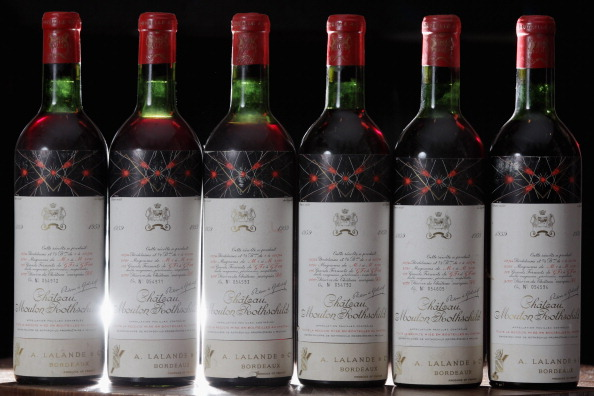 Nouvelle-Aquitaine「A Collection Of Some Of The Most Iconic Wines Ever Made Set To Be Auctioned At Sothebys」:写真・画像(6)[壁紙.com]