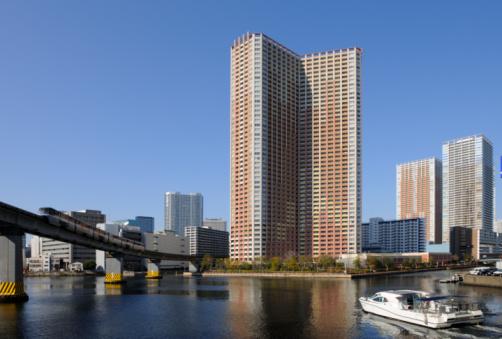 Shinagawa-ku「Monorail and tower apartment. Shinagawa-ku, Tokyo, Japan」:スマホ壁紙(15)