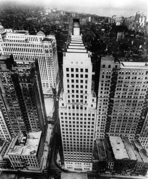 Skyscraper「Cityscape Chicago. photograph. Around 1935.」:写真・画像(19)[壁紙.com]