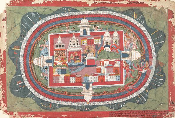Metropolitan Museum Of Art - New York City「Page From A Dispersed Bhagavata Purana Manuscript (Life Of Krishna)」:写真・画像(9)[壁紙.com]