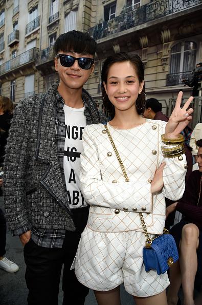 Kiko Mizuhara「Chanel : Front Row  - Paris Fashion Week Womenswear Spring/Summer 2015」:写真・画像(19)[壁紙.com]