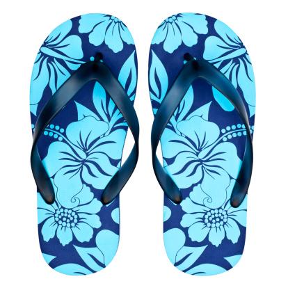 Floral Pattern「Pair of floral sandals / flip flops」:スマホ壁紙(0)