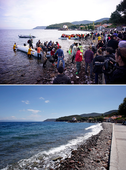 Greek Islands「Key Locations Of The 2015 Migrant Crisis Revisited」:写真・画像(8)[壁紙.com]