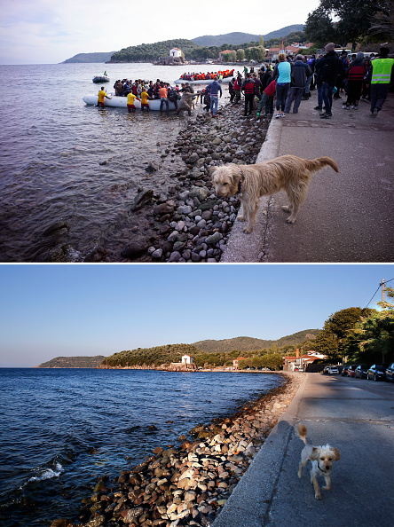 Greek Islands「Key Locations Of The 2015 Migrant Crisis Revisited」:写真・画像(3)[壁紙.com]