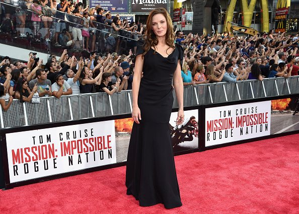 女優「'Mission Impossible - Rogue Nation' New York Premiere - Inside Arrivals」:写真・画像(8)[壁紙.com]