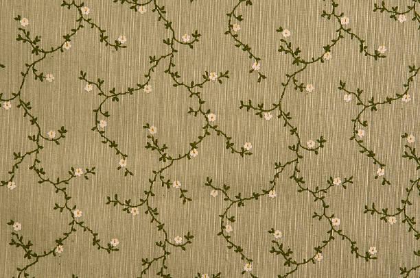 Floral fabric wallpaper, full frame:スマホ壁紙(壁紙.com)