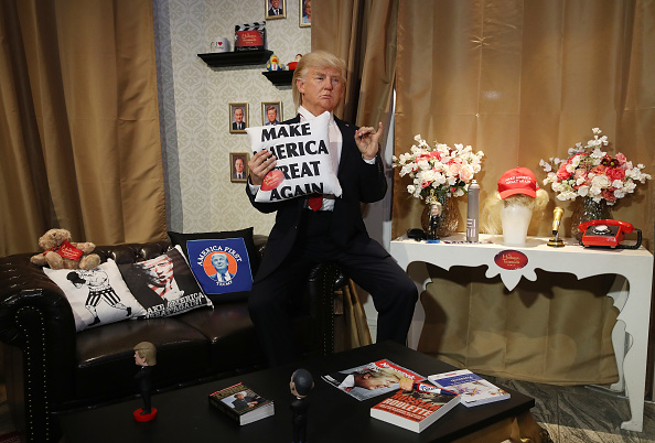 Silicon「Donald Trump Silicon Mask Live Presentation At Madame Tussauds」:写真・画像(15)[壁紙.com]