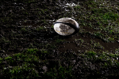 Mud「Rugby ball on muddy field」:スマホ壁紙(17)