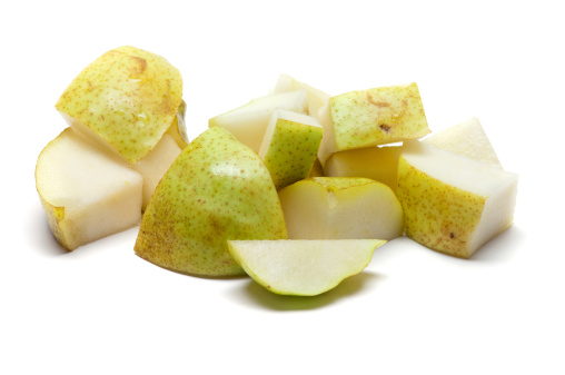 Pear「A selection of chopped up bits of pear」:スマホ壁紙(1)