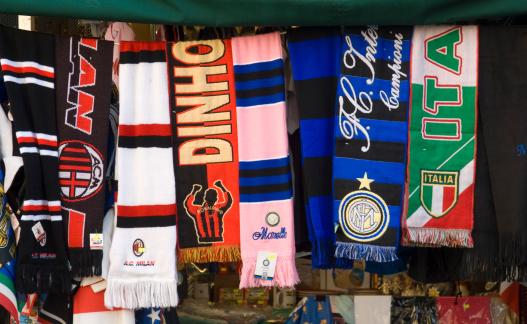 Milan「Selection of soccer supporter scarves 」:スマホ壁紙(18)