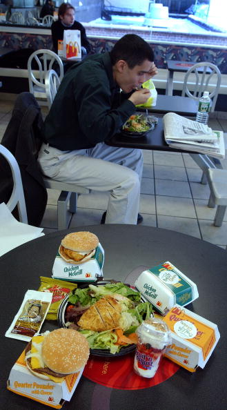 Salad「McDonalds Offers Real Life Choices Diet In New York City」:写真・画像(0)[壁紙.com]