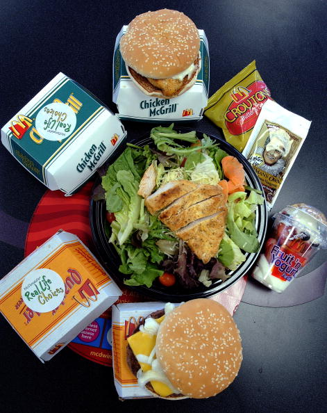 Salad「McDonalds Offers Real Life Choices Diet In New York City」:写真・画像(6)[壁紙.com]