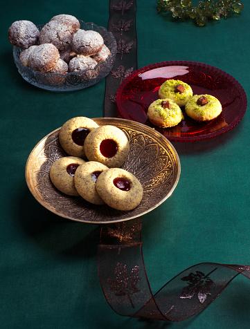 Cookie「Selection of various Christmas Cookies」:スマホ壁紙(11)