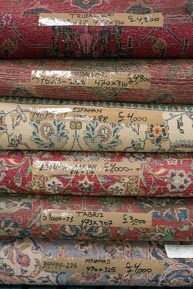 Rug「Oriental Rug Specialist Displays Hand Knotted Carpets」:写真・画像(19)[壁紙.com]
