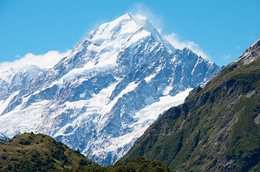 Mt Cook「Aoraki / Mount Cook, New Zealand's highest mountain.」:スマホ壁紙(9)