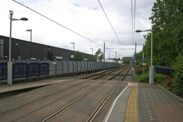 Midland Metro tram platforms at Jewellery Quarter station:ニュース(壁紙.com)