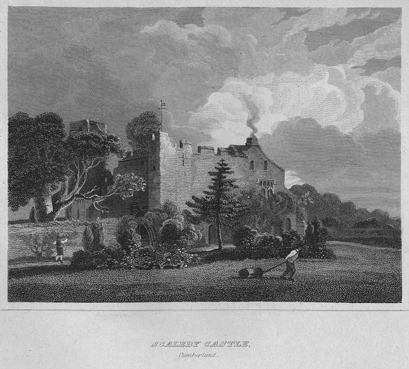 Circa 14th Century「Scaleby Castle. Cumberland, 1814」:写真・画像(3)[壁紙.com]